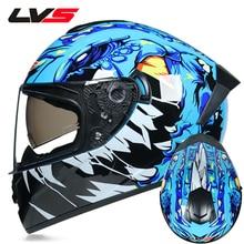 DOT Approved, защитные мотоциклетные шлемы, Полнолицевые, с двумя линзами, гоночный шлем, сильное сопротивление, внедорожный шлем