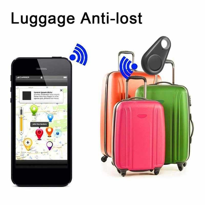 スマートペット GPS トラッカーアンチロストアラームタグワイヤレス Bluetooth トラッカー子バッグ財布電話キーファインダーロケータアンチ失われたアラーム