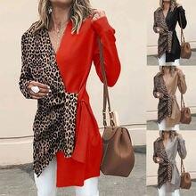 Новинка Модный женский элегантный костюм с v образным вырезом