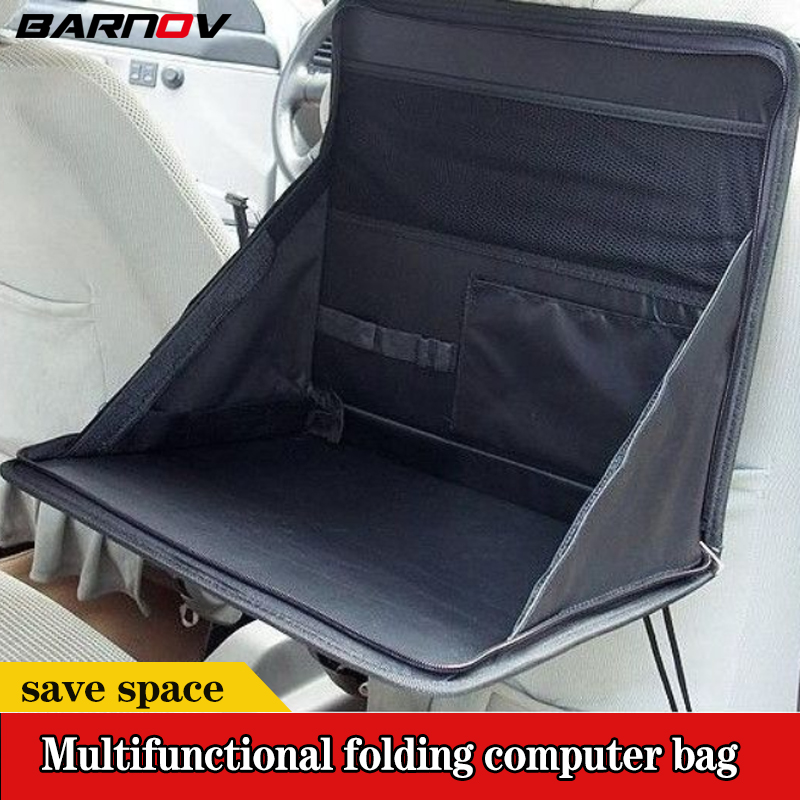 Desk-Bracket Storage-Bag Laptop-Holder Car-Back-Seat Computer Foldable BARNOV