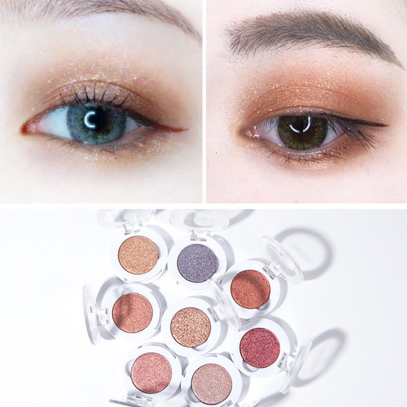 Pearl Makeup >> Veronni Single Color Mashed Potatoes Pearl Light Eyeshadow Optional Eye Makeup Purple Eyeshadow Cheap Makeup Brushes From Huangcen 35 79 Dhgate Com