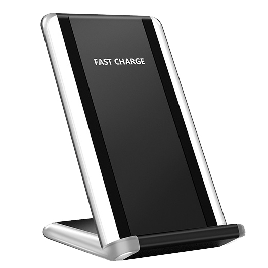QI Galaxy G400 desktop vertical mobile phone wireless charger transmitter smart chip fast charge FOR: IPHONE Samsung Huawei|Wireless Chargers| |  - title=