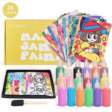 Детский набор для рисования песком Детские обучающие игрушки