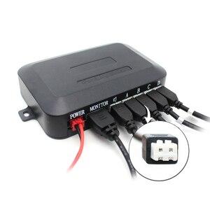 Image 5 - Парктроник автомобильный, парковочный датчик с камерой заднего вида, 22 мм, 4 датчика