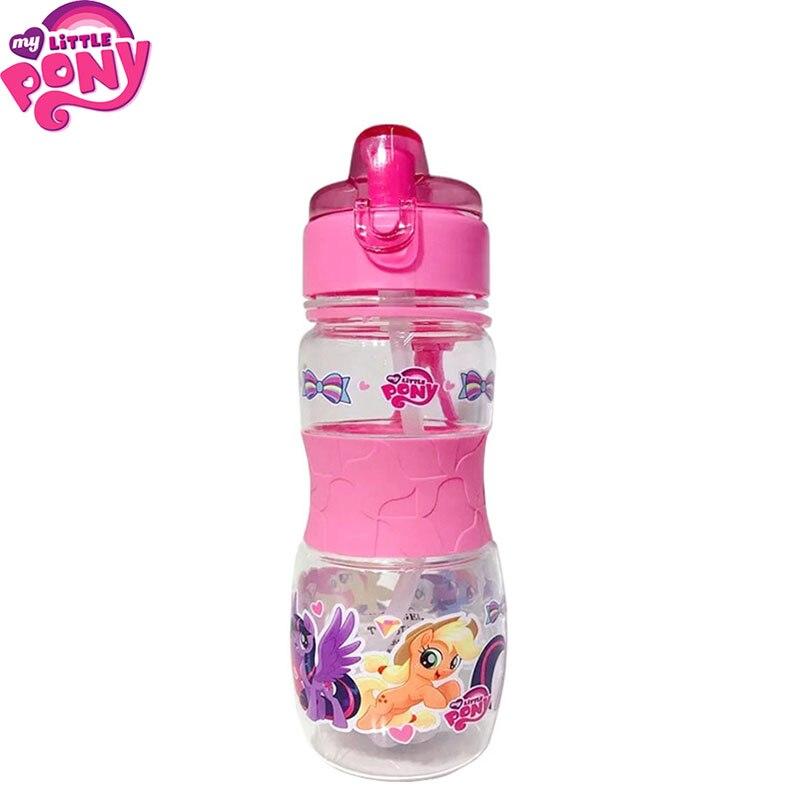 Детская чашка для воды My Little Pony, креативные Мультяшные детские чашки для кормления с соломинкой, уличные портативные бутылки