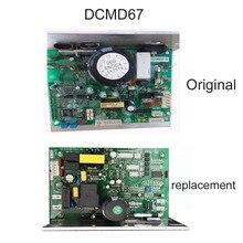 Placa mãe do controlador do motor de treadmoinho, placa mãe endex dcmd67 dcmd67