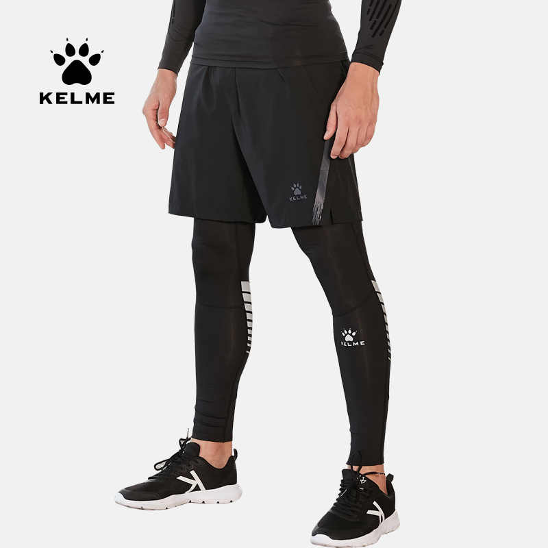 Kelme Men S Running Tights Sportswear Gym Leggings Sport Training Jogging Exercise Long Compression Pants Breathable 3881111 Running Tights Aliexpress