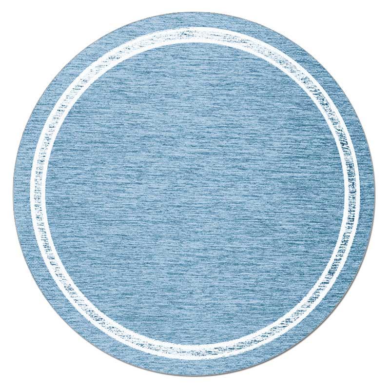 Скандинавский современный ковер гостиная круглый ковер простые одноцветные Коврики Спальня прикроватный коврик домашний стул для прихожей круглый коврик игровой коврик - Цвет: 1