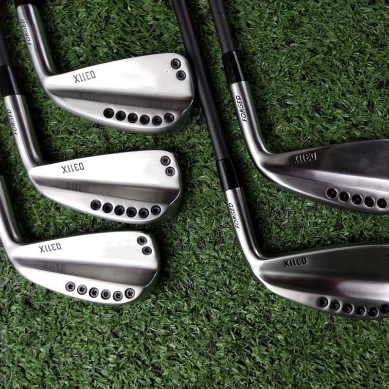 Golf Clubs 0311x Driving Irons  Silvery/black Golf Forged Irons Clubs Golf 1-5, R / S Head Cover Steel Shaft