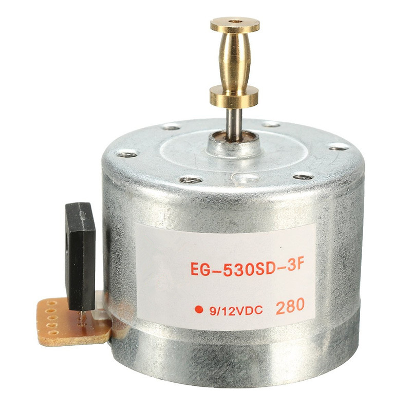 XNEMON Mounting holes 25MM DC9-12V 3-Speed 33/45 78RPM Hot Turntables Motor