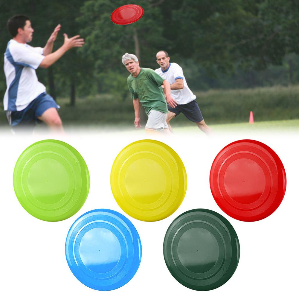 Outdoor Beach Fly Disc Game Parent-child Sports Adult Kids Plastic Fly Disc Capture Fly Disc Game Rotating Interactive Game 30N1