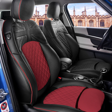 Car Seat Covers For BMW MINI Cooper S One F55 Wholesale Waterproof Leather Auto Seat Protector Accessories car accessories