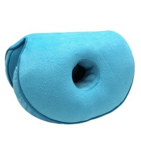 Home Office Dual Comfort Cushion Lift Hips Up Seat Cushion Multifunction For Pressure Relief Fits In Car Seat