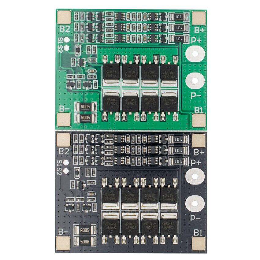 Оригинальная 3S 25A Li Ion 18650 BMS PCM плата защиты батареи BMS PCM с балансом для литий ионного Lipo модуля аккумуляторной батареи|bms pcm|protection board18650 bms | АлиЭкспресс