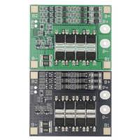 Original 3S 25A Li-ion 18650 BMS batería en PCM Placa de protección BMS PCM con equilibrio para batería li-ion Lipo módulo de batería