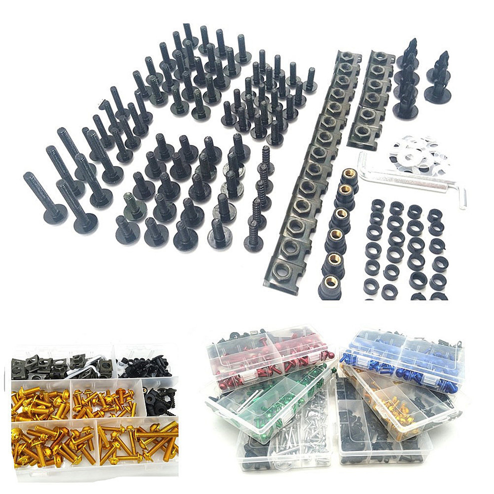 Motorcycle Fairing Bolts box set Fastener Clip Screw Nuts For <font><b>Buell</b></font> <font><b>1125CR</b></font> 1125R M2 Cyclone S1 Lightning Ulysses XB12X image