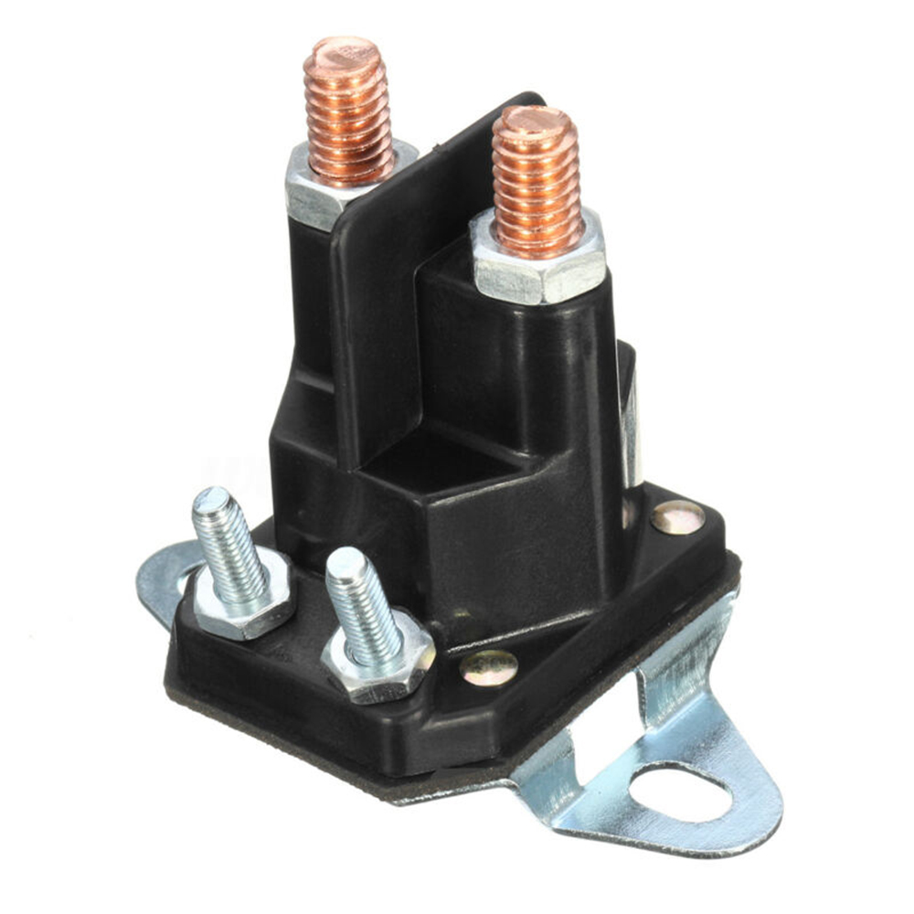 4 Pole Starter Solenoid Relay Switch Universal Bracket Electric Lawn Mower Accessories Suitable For MTD Lawnmower