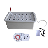 24 Holes Cabinet Indoor Groundless Site Plant Garden Breathable Seedling Growing Pots Hydroponic Box Cultivation Nursery System