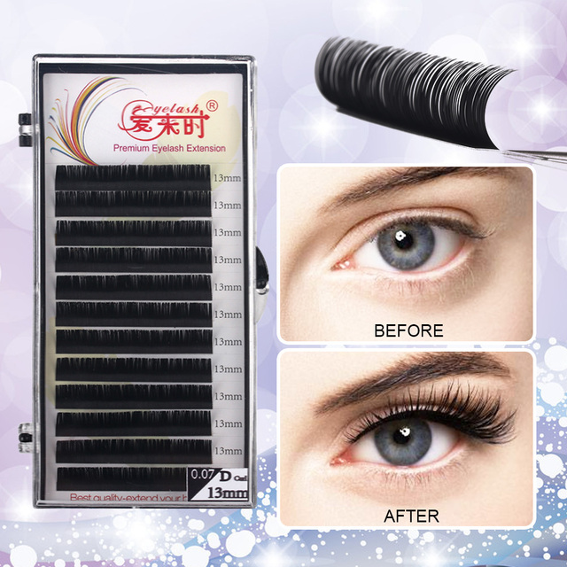 Individual Eyelash Extension Faux Mink Eyelash Curl B/C/CC/D 0.03-0.25mm Thickness Classical Eyelashes Maquiagem Cilios Eye Lash