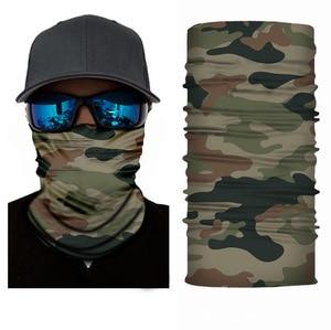 3D бесшовные банданы для шеи грелка Buffe Защита лица мотоциклетная велосипедная Балаклава головная повязка маска для мужчин женщин мужчин Пешие прогулки Рыбалка шарф