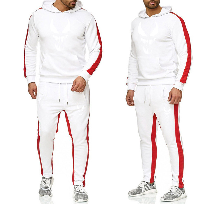 Winter Season Hot Sale Men's Sets Sweatshirt+pants Two Pieces Sets Casual Tracksuit Male Tshirt Gyms Fitness Trouser