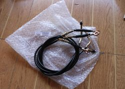 FREE SHIPPING GSMOON 260CC BUGGY ATV SPARE PARTS /PARKING BRAKE CABLE ASSY