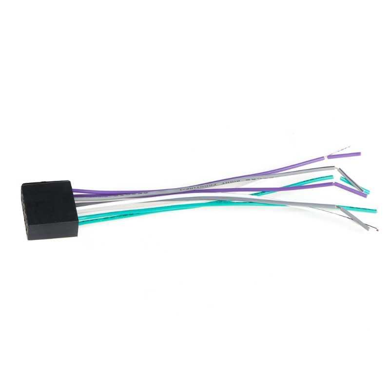 Universal Female ISO Wiring Harness Car Radio Adaptor Connector Wire Plug Kit