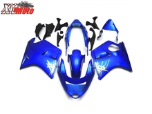 ABS Fairing Kit For Honda CBR1100XX 1996-2007 Motorcycle Injection ABS plastic Fairings CBR 1100XX 96-07 Gloss Blue Bodyworks цены