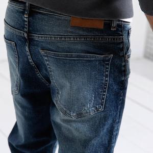 Image 4 - Мужские облегающие джинсы SIMWOOD, рваные джинсовые брюки, штаны из денима, 2019, уличная одежда батальных размеров, 190019