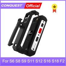الفتح الأصلي الخصر كليب ل S6 S8 S9 S11 S12 S16 S18 S19 F2 سلسلة وعرة الهاتف الذكي