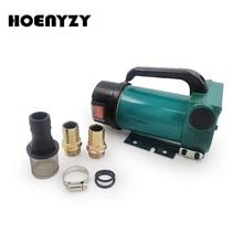 Mini pompe à huile électrique, auto amorçante, 12V/24V/220V, 200W, 60l/MIN, Transmission dhuile et de carburant Diesel