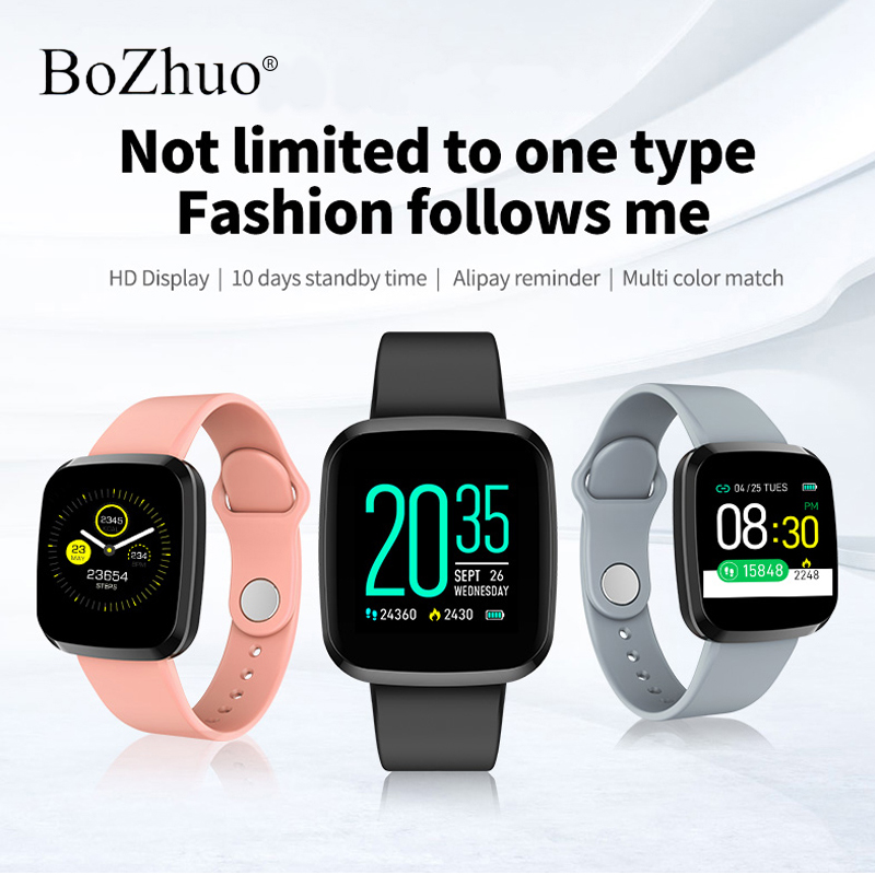 <font><b>P3</b></font> Bluetooth <font><b>Smart</b></font> <font><b>Watch</b></font> Men Women For Android IOS <font><b>Smart</b></font> Clock Wach Fitness Tracker Silicone Strap Long Standby Health Monitor image