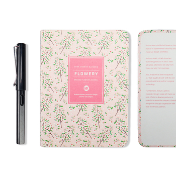 New Arrival Cute PU Leather Floral Flower Schedule Book Diary Weekly Planner Notebook School Office Supplies Kawaii Stationery 9