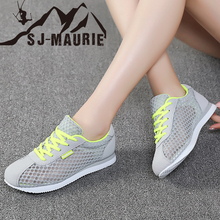 купить SJ-MAURIE Tenis Light Soft Sport Shoes Women Tennis Shoes Female Stability Walking Sneakers Trainers Cheap по цене 1385.3 рублей