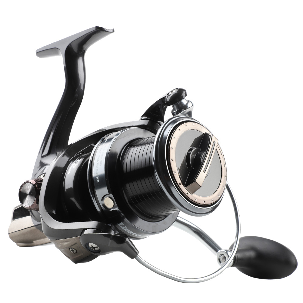 DONQL Spinning Fishing Reel Metal Spool Max Drag 15kg Sea Fishing Coil 5000-10000 High Strength Reel Carp Fishing Accessories