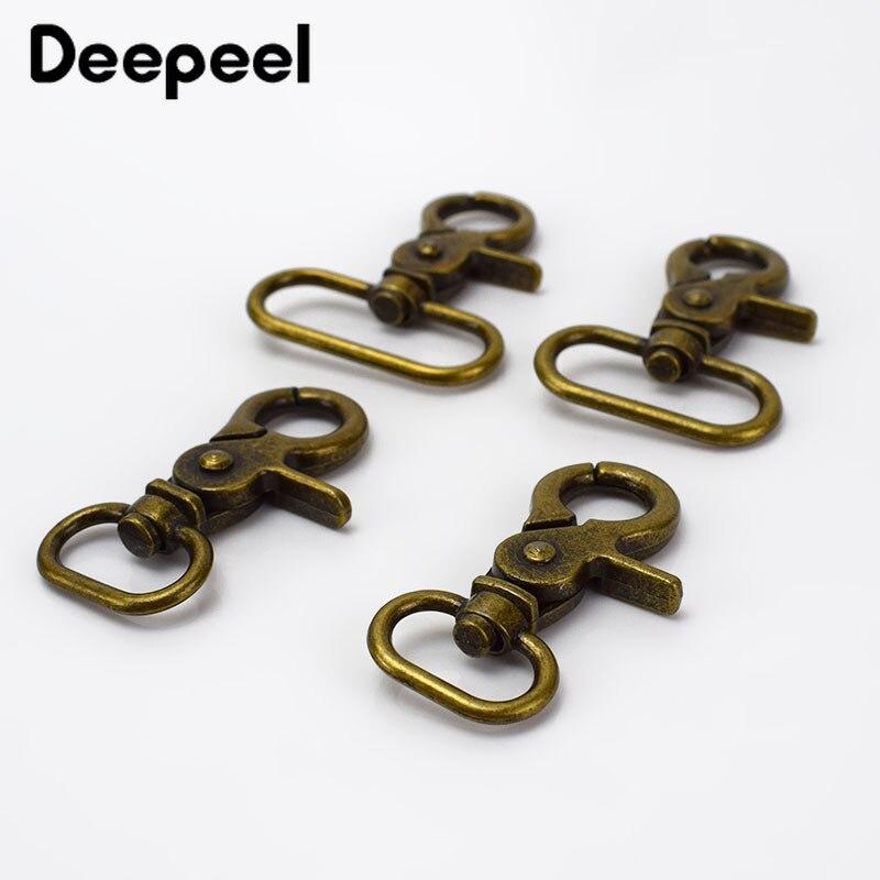 20/25/32/38mm Bronze Metal Buckles For Bag Handbag Strap Clasps Lobster Purse Adjusted Swivel Trigger Snap Hooks DIY Accessories