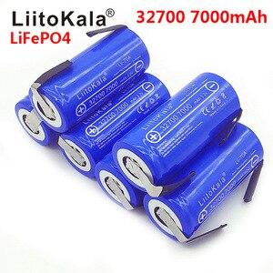 Image 4 - LiitoKala Lii 70A 3.2 فولت 32700 LiFePO4 7000 مللي أمبير بطارية 35A التفريغ المستمر الحد الأقصى 55A بطارية عالية الطاقة + ورقة النيكل