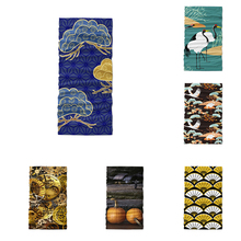 Maske Scarf Bandanas Printed with SAFETY-FILTER Washable Head Mouth-Neck-Cover Japanese-Style
