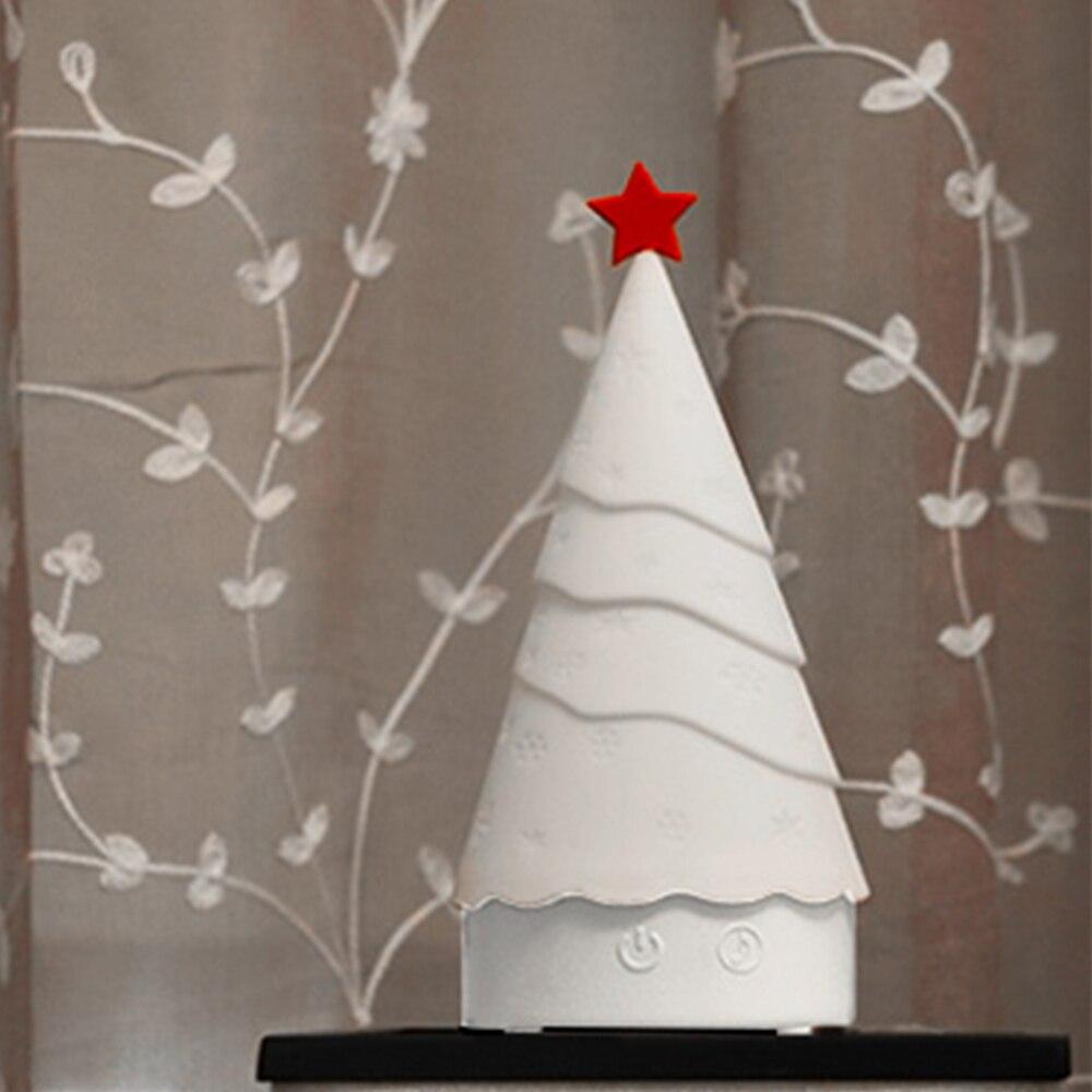 Babbo natale Ligh Albero Di Natale Accarezzò Silicone HA CONDOTTO LA Luce di Notte 4 di Colore del Sensore di Tocco di Controllo Regalo per I Bambini Del Bambino bambini O16 - 5