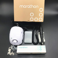 STRONG 210 MARATHON champion 3 Strong 102 Handle 35000 rpm Electric Nail Drill FORTE 210 Nail art Tool Manicure Machine