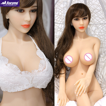 Racyme Sex Doll 165cm full body Real Silicone metal skeleton sex doll Soft TPE Big ass pussy Japanese love doll sex doll for men