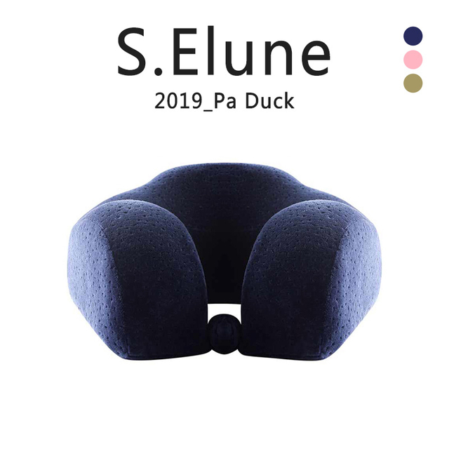 u-shape travel pillow Memory foam filling cotton Slow rebound Neck pillows Aircraft  Travel Nap Cervical Neck Pillow