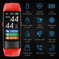 P11 Plus Smartband Blutdruck Smart Band Herz Rate Monitor EKG Armband Aktivität Fitness Tracker Elektronik Armband