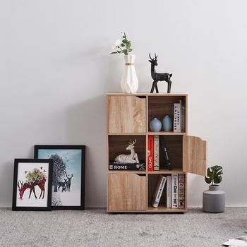 Nowy dąb regał regał regał 4 6 9 Cube maksymise przestrzeń magazynowa do salonu sypialnia jadalnia tanie i dobre opinie CN (pochodzenie) meble do domu meble do salonu