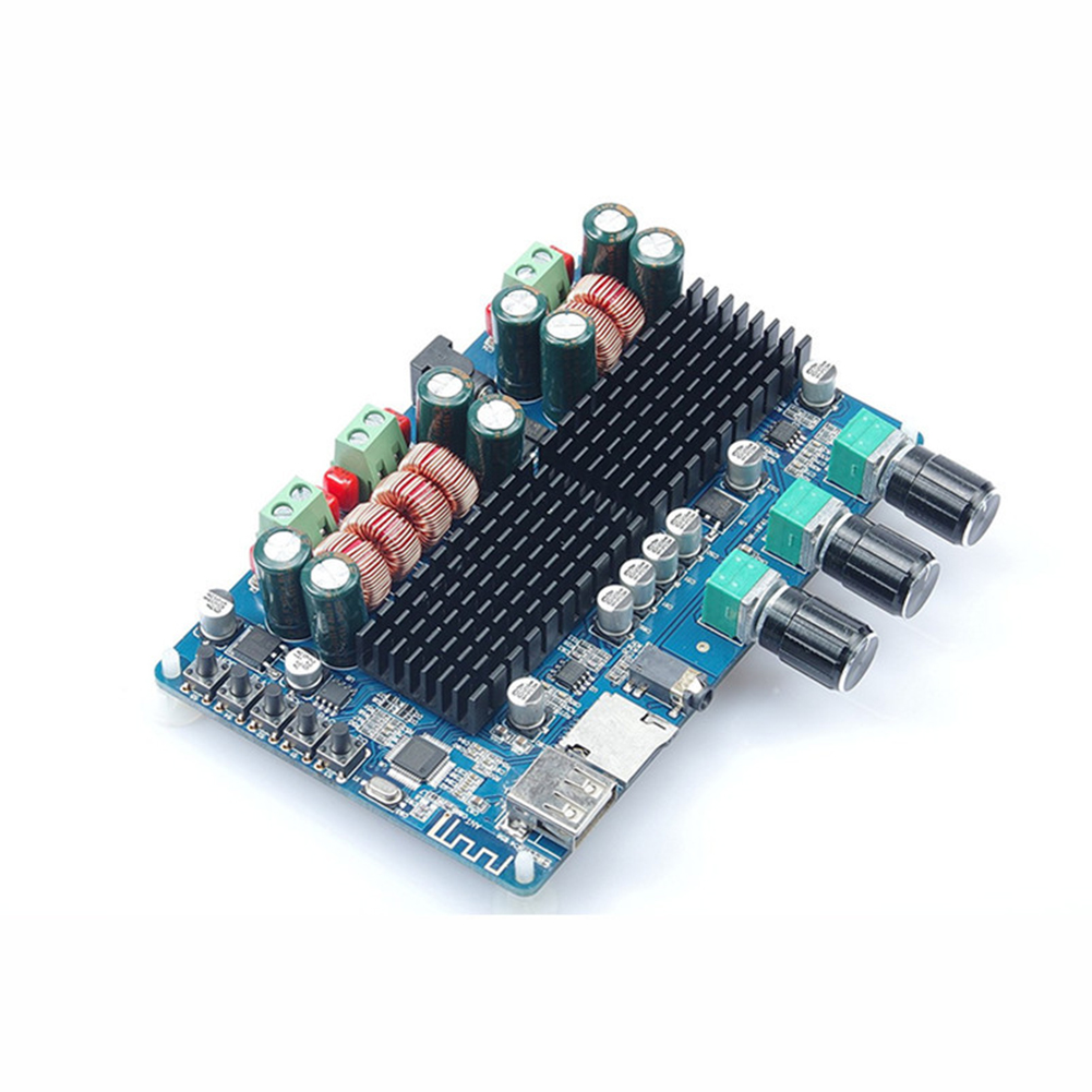 2.1 Channel Amplifier Board Stereo Accessories Bluetooth Subwoofer Audio Electronic TF Cards Stable USB Interface Integrated image