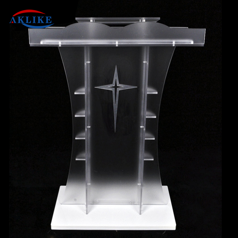 Lectern Podium Standard Size Acrylic Aklikea Luminum Truss Podium Pulpitos Para Iglesias Smart Podium Other Commercial Furniture