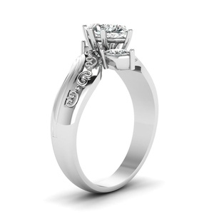 Image 5 - His & Her Stainless Steel Promise Rings 1.85 Ct Marquise Cz Cubic Zirconia Bridal Engagement Ring & Men Wedding Band