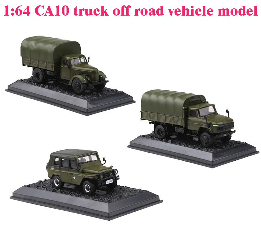 1:64  CA10 Truck Off Road Vehicle Model  A Variety Of  Alloy Collection Model