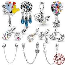 CodeMonkey 925 argent Sterling coeur de l'océan série perles breloques Original fit bracelets & bracelets femmes bijoux de mode A003