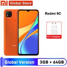 Globalna wersja Xiaomi Redmi 9C telefon komórkowy 9C 3GB RAM 64GB ROM MediaTek Helio G35 6 53 #8222 5000mAh 13MP aparat fotograficzny Smartphone tanie tanio Nie odpinany CN (pochodzenie) Android Rozpoznawania linii papilarnych Inne Nonsupport Smartfony Pojemnościowy ekran english